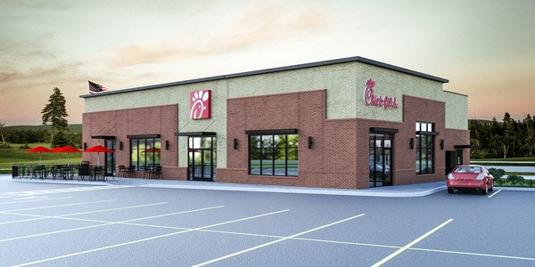 Rochester's Very First Chick Fil A!