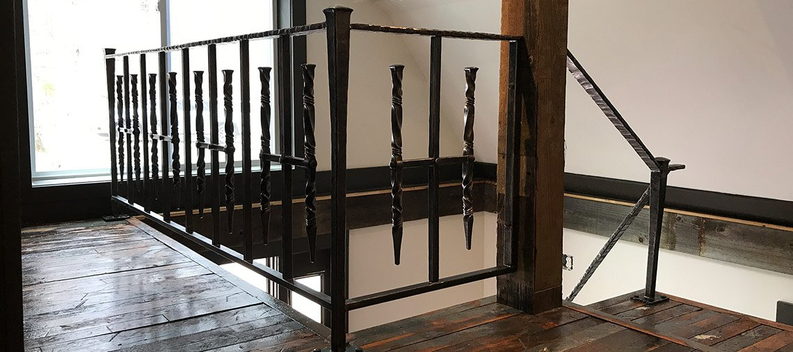 Hand-forged Railing