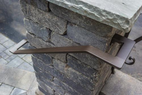Sleek Custom Metal Handrail