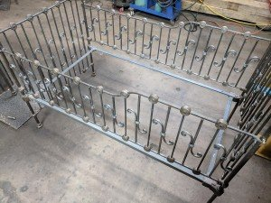 Custom Metal Crib