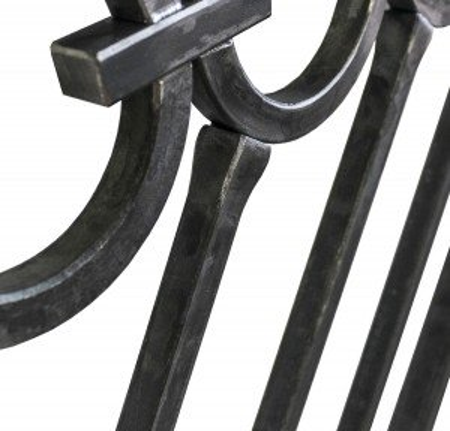Custom Forged Metal Rail