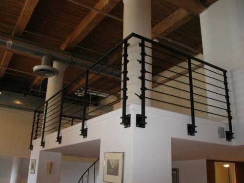 Modern Custom Metal Railings