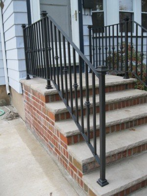 Rochester Wrought Iron Railings Designs