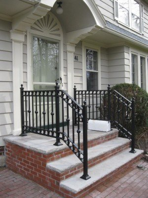 Custom Forged Metal Railings Rochester NY