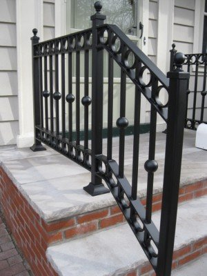 Gorgeous Hand Forged Metal Railing
