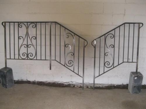 Custom Wrought Iron Railings
