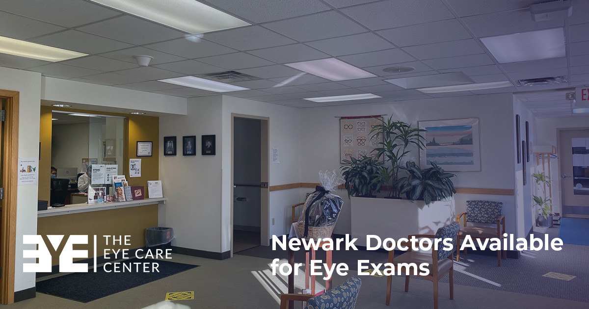 Newark Doctors Available for Eye Exams