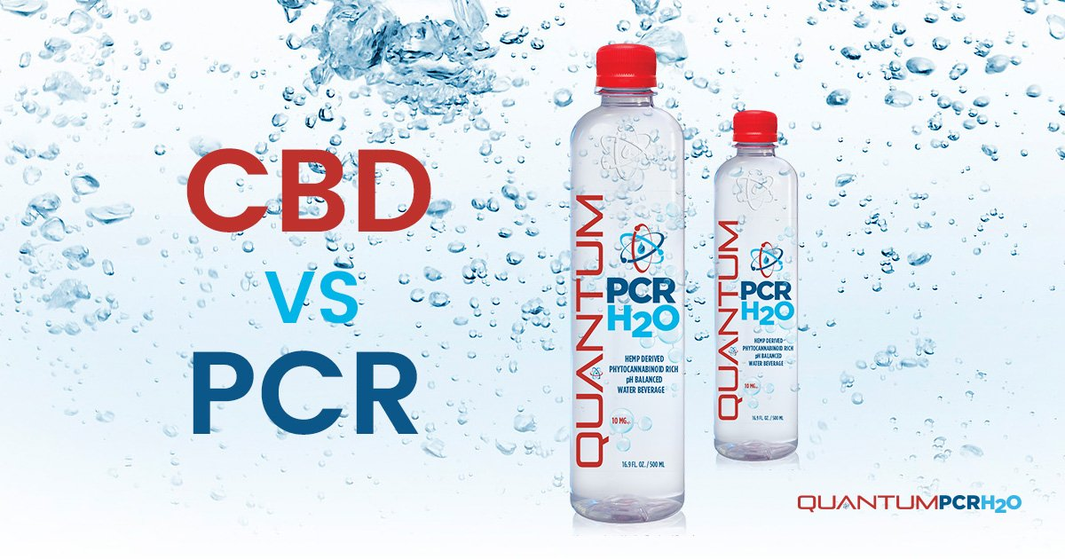 CBD Water vs PCR H2O, Phytocannabinoid Rich
