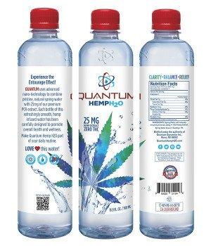 NEW! Quantum Hemp H2O - 12pk