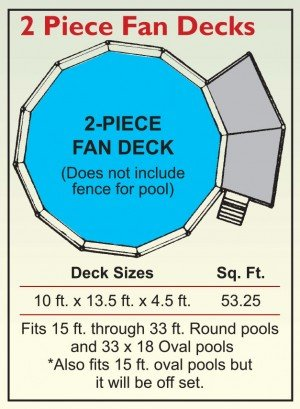 2 Piece Fan Decks