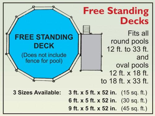Free Standing Decks