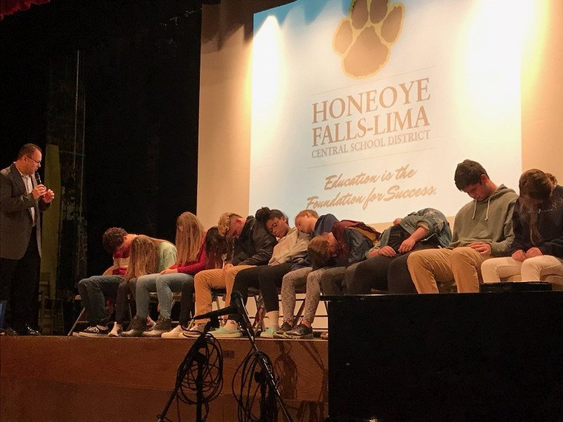 High School Hypnosis Show