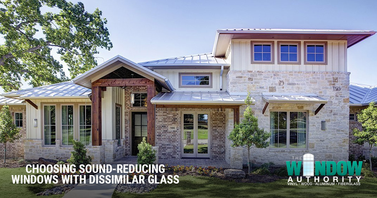 Choosing Sound-Reducing Windows with Dissimilar Glass