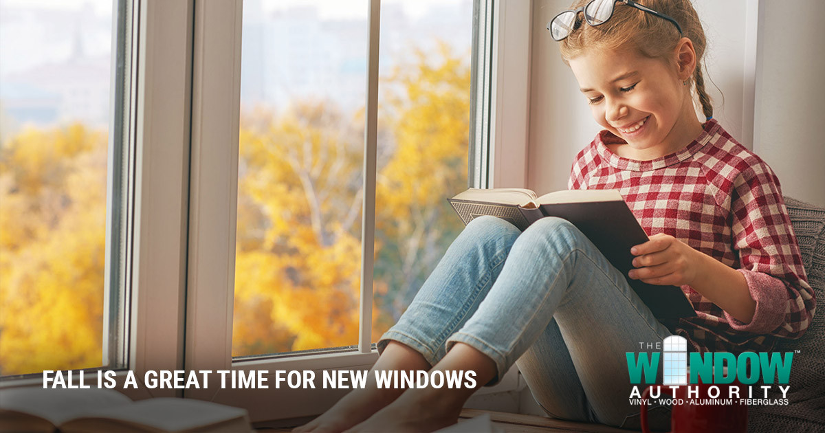 Fall is a Great Time to Have Replacement Windows Installed