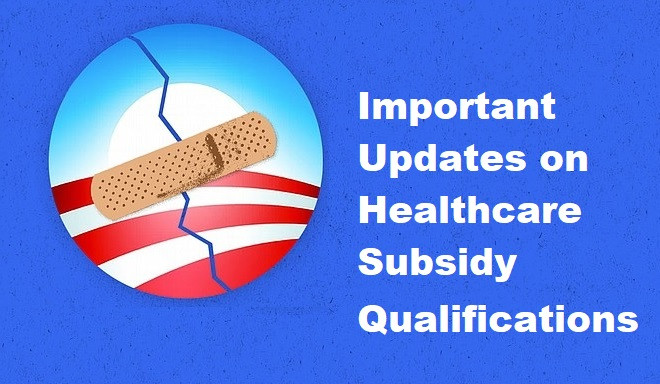 New Health Insurance Subsidy Qualifications Take Effect April 1st 2021