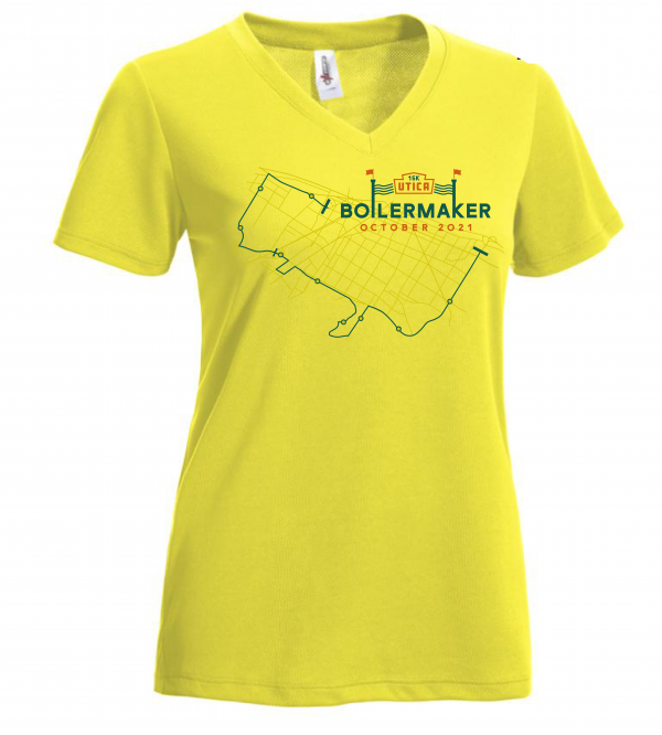 Boilermaker Women's 2021 Limited Edition Performance Tee Bright Yellow