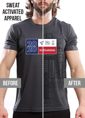 Houston Marathon Men's Short Sleeve Crew Neck Shirt