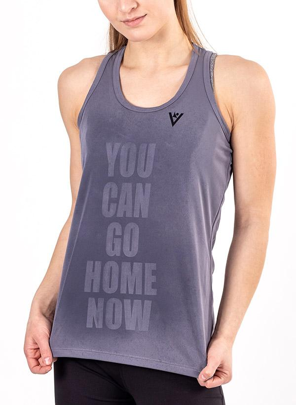 """Women's """"YOU CAN GO HOME NOW"""" Tank"""