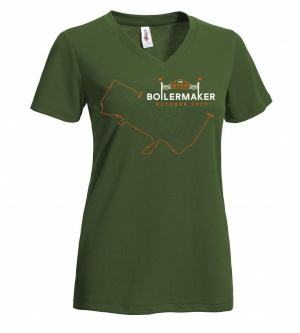 Boilermaker Women's 2021 Limited Edition Performance Tee Military Green
