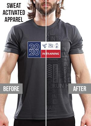 Houston Marathon Men's Short Sleeve Crew Neck Shirt