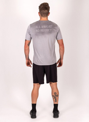 "Men's ""Lift Heavy, Fear Nothing"" Short Sleeve Crew Neck Shirt"