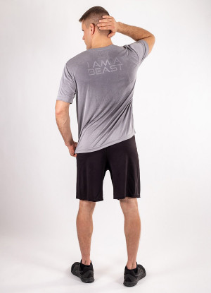 "Men's ""Beast"" Short Sleeve Crew Neck Shirt"