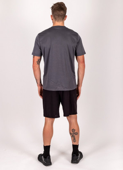 "Men's ""I Run"" Short Sleeve Crew Neck Shirt"