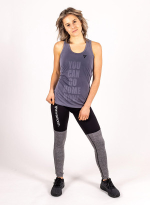 "Women's ""YOU CAN GO HOME NOW"" Tank"
