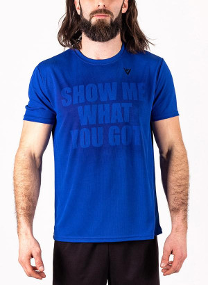 "Men's ""Show Me What You Got"" Short Sleeve Crew Neck Shirt"