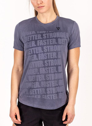 "Women's ""Faster, Better, Stronger"" Short Sleeve Shirt"