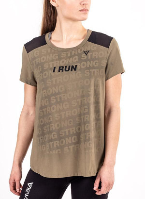 "Women's ""I RUN"" Short Sleeve Shirt"