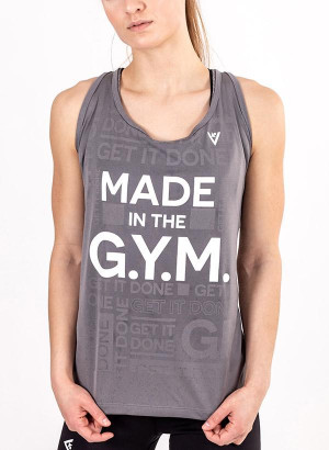 "Women's ""MADE in the G.Y.M."" Tank"