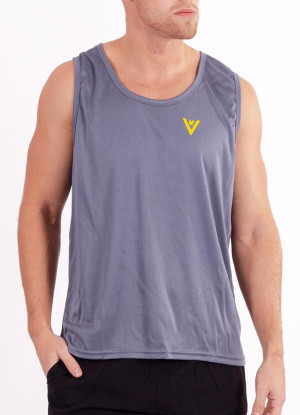"Men's ""Swim, Bike, Run, Repeat"" Performance Tank"