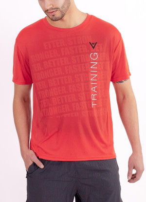 "Men's ""Training"" Short Sleeve Crew Neck Shirt"