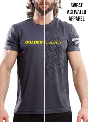 BOLDERBoulder Men's 2020 Short Sleeve Crew Neck Shirt