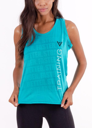 "Women's ""Training"" Performance Tank"