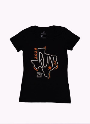 Houston Marathon Women's Black 13.1 Short Sleeve Shirt