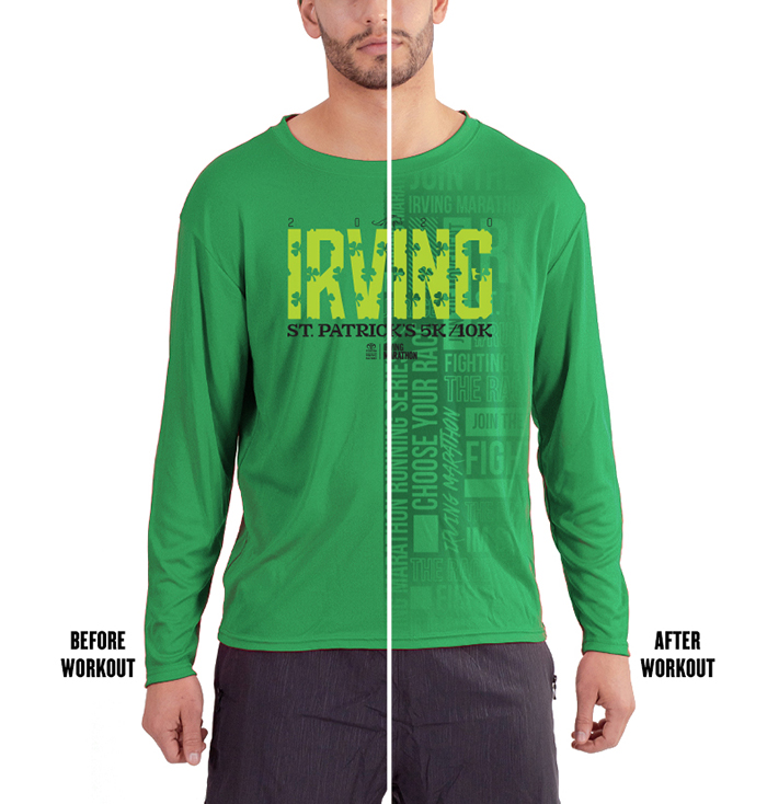 Green Irving Marathon Shirt