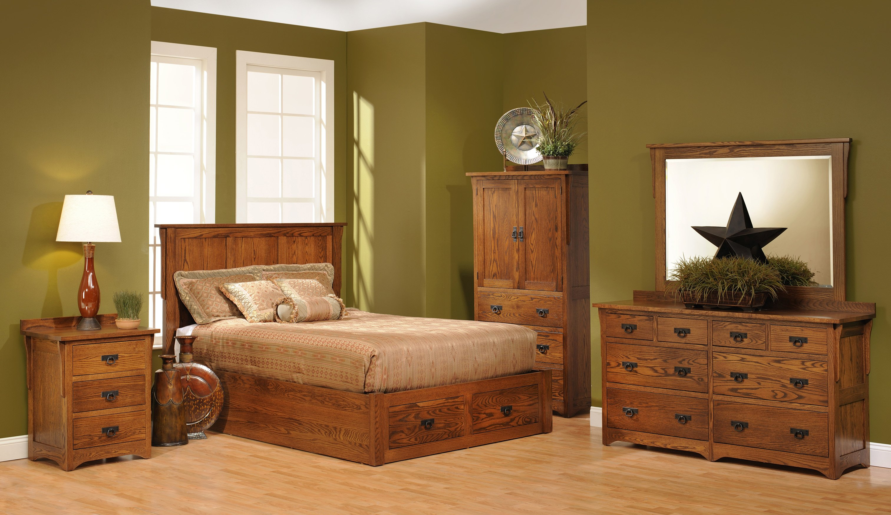 Mission Slat Bedroom Furniture Rochester Ny Jack Greco