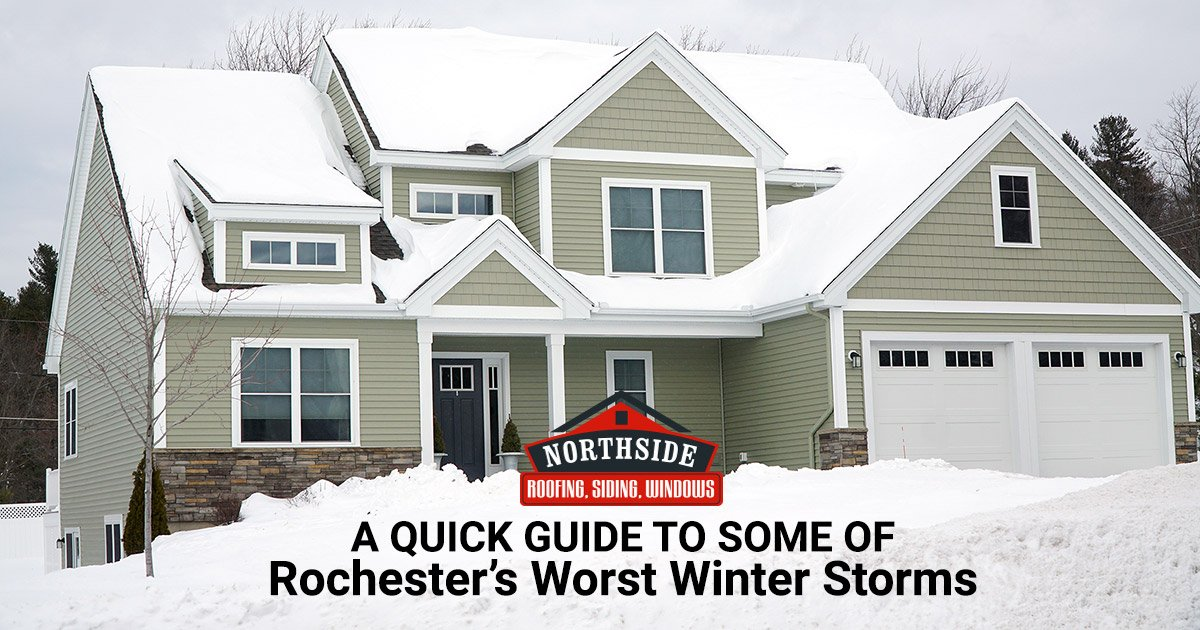 A Quick Guide to Some of Rochester's Worst Winter Storms