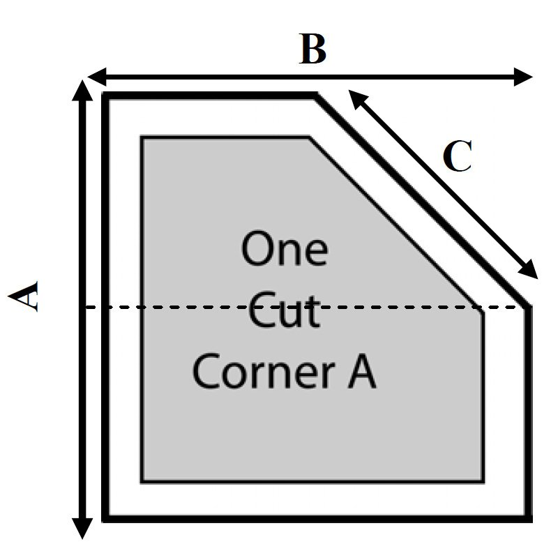 Advanced 1 Cut Corner - A Hot Tub Cover