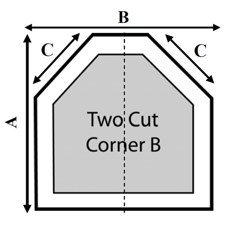 Api 2 Cut Corners - B Hot Tub Cover
