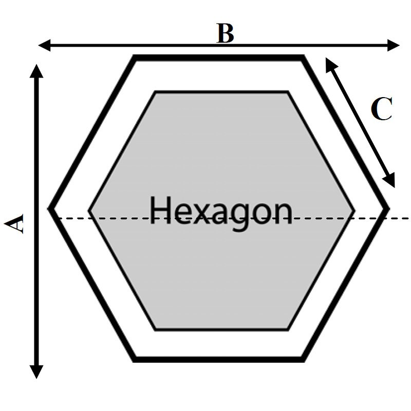 Superior Hexagon Hot Tub Cover