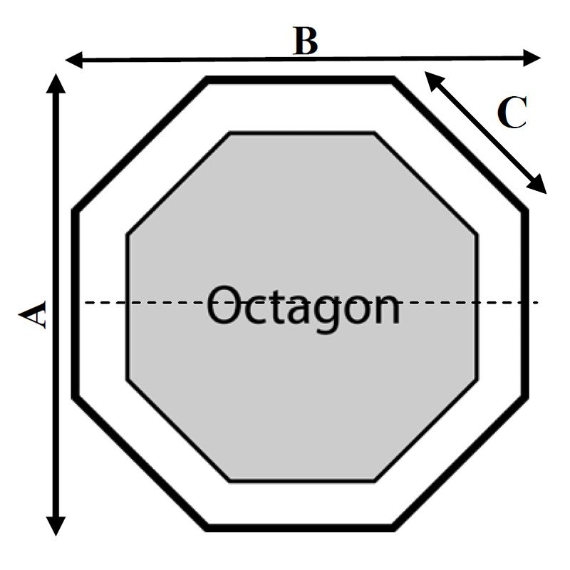 Dimension 1 Octagon Hot Tub Cover