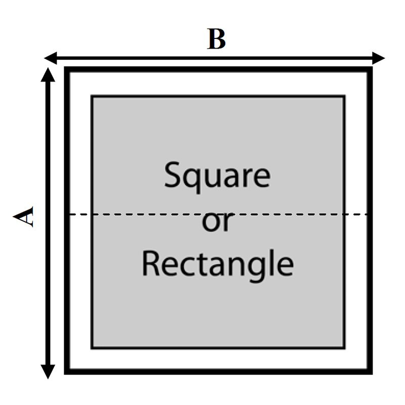 Hydro Square Or Rectangle Hot Tub Cover
