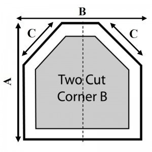 Caldera 2 Cut Corners - B Hot Tub Cover