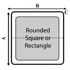 Square Or Rectangle With Rounded Corners