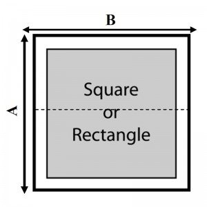 Baja Square Or Rectangle Hot Tub Cover