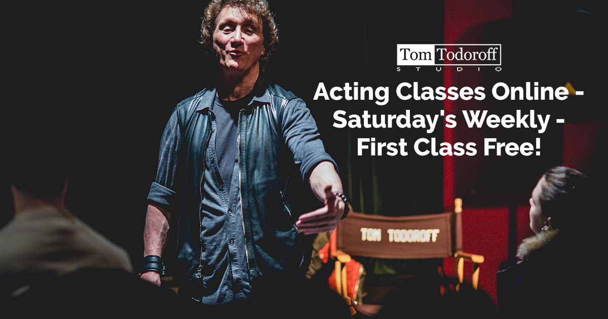 Acting Classes Online Every Saturday with Your First Class Free
