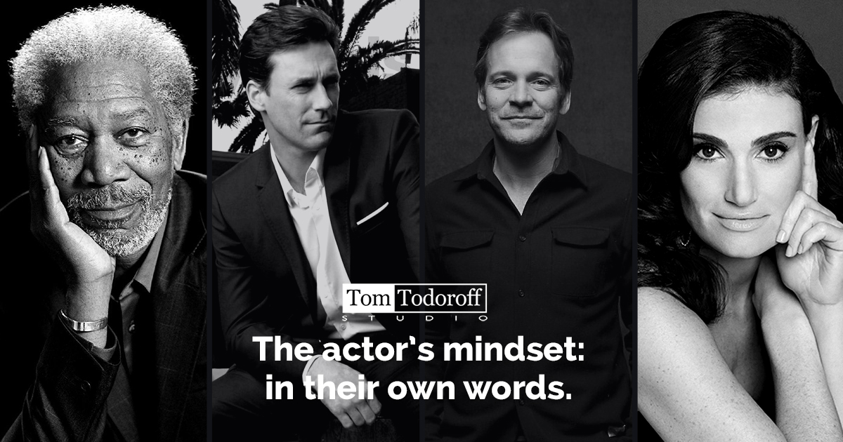 The Actor's Mindset: In Their Own Words